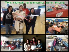 "The force is strong with the Piute Star Wars club!  This group is focused on the light side of the force through community service and fund raising. This year alone they raised over $800 for the MS Society.  As Yoda would say, ""Much good they have done."""
