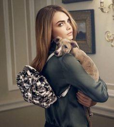 Model Cara Delevingne Links Up With Mulberry For Handbag Campaign
