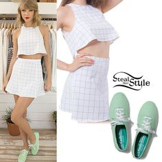 Taylor Swift for Keds' Spring 2015 Collection - photo: taylorpictures Taylor Swift Boyfriends, Taylor Swift Outfits, Taylor Swift Hot, Taylor Swift Style, Preppy Style, Her Style, Celebrity Outfits, Celebrity Style, Taylor Swift Pictures