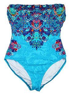 Ralph Lauren Printed Bandeau One Piece Bathing Suit (6, Turquoise) RALPH LAUREN http://smile.amazon.com/dp/B00S8Q35DM/ref=cm_sw_r_pi_dp_GMU8wb0W0RSKD