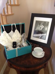 4bc43b7752d8 Tiffany theme bridal shower Bridal Shower Breakfast At Tiffanys