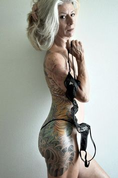 Don't tell me, when I'm old i'll look like trash with all my ink!