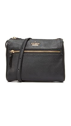 ed8d0bb8a7 Kate Spade New York Jackson Street Mini Cayli Cross Body Bag Black Cross  Body Bag