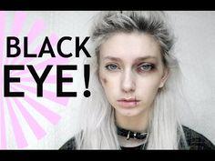 Black Eye and Bruises Makeup - YouTube
