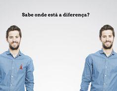 "Check out new work on my @Behance portfolio: ""Cartaz conscientização HIV"" http://on.be.net/1KTVubh"