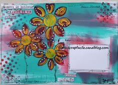 MA Adelheid recto Scrap, Mail Art, Cards, Scrap Material
