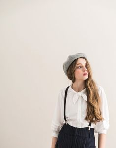 PAZZO It is the accessory of life. - #100CottonDenim, #Berets, #EmbellishedShoes, #LongLayers, #LucitePatentLeather, #SheerSocks, #SideSlits, #StructuredEarrings, #WideLegPants