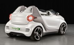 The new smart concept car will be presented in Geneva Smart Auto, Smart Car, Super Sport, Super Cars, Smart Fortwo, Car Mods, Geneva Motor Show, City Car, Porsche 356