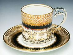 Aynsley Tea Cup and Saucer, ca. 1929