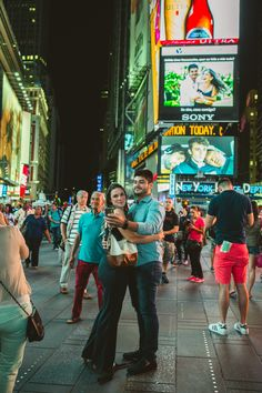 From Brazil to New York! Proposal on the Times Square Billboards! Bae is going to come through