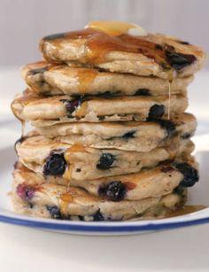 Pancakes ai mirtilli, per chi ama le sorprese