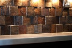 Reclaimed Timber Tiles - Show Us Your Inspiration! Funny Home Decor, Diy Crafts For Home Decor, Home Decor Signs, Home Wall Decor, Cheap Home Decor, Home Decor Items, Aztec Home Decor, Gypsy Home Decor, Green Home Decor