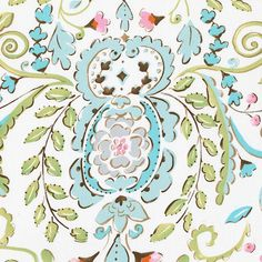 Love Bird Damask Cradle Sheet #carouseldesigns