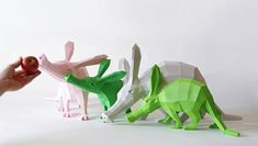 With time, patience and just a touch of glue, you can assemble these DIY geometric paper sculptures with your own hands.