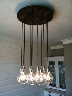 Inspiration: light on kokoshka.PL - home + interiors + Decoration + inspiration + DIY