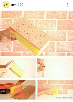 DIY Brick Paint