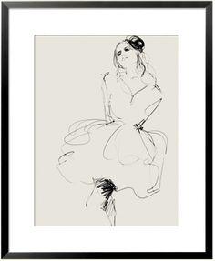 'Untitled XV'. Giclée Konsttryck av Judith van den Hoek http://www.artelimited.se/