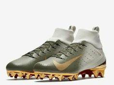 aac7e87fac8c Advertisement(eBay) Nike Vapor Untouchable 3 Mens Pro Football Cleats Green  Gold 917165 007