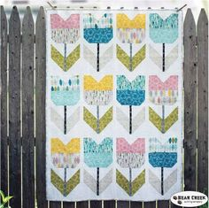 Amsterdam Free Quilt Pattern by Cloud 9 Fabrics
