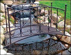 Cast Iron Garden Bridges
