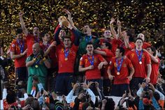España Campeon del Mundo 2010