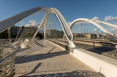 Bac de Roda Bridge, Barcelona, Spain
