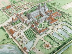 Lewes Priory was founded by William de Warenne and his wife Gundrada between 1078 and 1082 on the site of a Saxon church dedicated, like the Priory, to St Pancras.