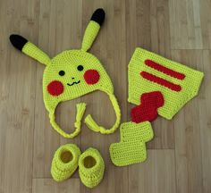 pikachu chibi free crochet pattern - Google Search
