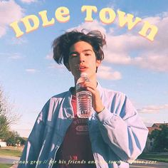 """Song """"Idle Town"""" ukulele chords and tabs by Conan Gray. Free and guaranteed quality tablature with ukulele chord charts, transposer and auto scroller. Cool Album Covers, Music Album Covers, Bedroom Wall Collage, Photo Wall Collage, Picture Wall, Picture Collages, Andy Warhol Werke, Cover Art, Origami Fox"""
