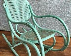 Antique bent wood wicker rocking chairs | chairs, recliners | Saskatoon | Kijiji