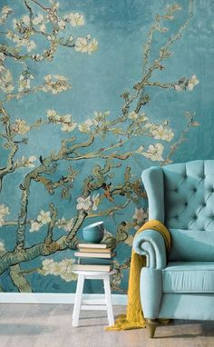 Bring an air of sophistication to your interiors with this classic art mural. Va – June USA Bring an air of sophistication to your interiors with this classic art mural. Va Bring an air of sophistication to your interiors with this classic art mural. Bedroom Color Schemes, Colour Schemes, Bedroom Colors, Colour Palettes, Bedroom Yellow, Floral Bedroom, Yellow Walls, Paint Schemes, Bedroom Ideas