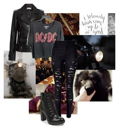 """""""Sirius Black"""" by xsophiex1802x ❤ liked on Polyvore featuring GET LOST, IRO and AC/DC"""