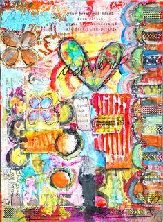Beopen - art journal inspiration