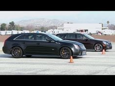 Head 2 Head with two of the sweetest wagons ever. I, too, will take the CTS-V.