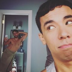 Just another day at the #coliver house. #tgit #htgawm by conradricamora