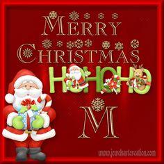 christmas alphabet, santa alphabet, alphabet profile pictures, free alphabet, Christmas graphics