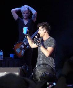 Adam Lambert concert