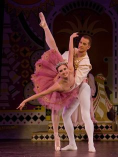 The Sugar Plum Fairy and her Cavalier, The Nutcracker