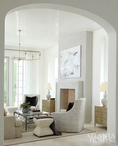 Atlanta Homes, Indian Home Decor, Beautiful Interiors, White Interiors, Cheap Home Decor, Home Decor Accessories, Decoration, Great Rooms, Home Remodeling