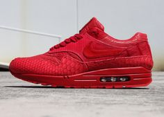 Nike Air Max 1 customisee crocodile et python (1)