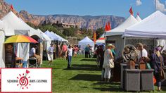 Information on the Sedona, Arizona Arts Festival featuring over 125 artists! Event takes place October 8th and 9th, 2016. Arts, live music, family fun, kidzone