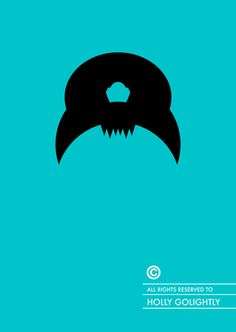 Breakfast at Tiffany's (1961) ~ Minimal Movie Poster by Patricia Povoa ~ Famous Hair Series #amusementphile