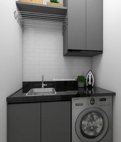Pantry Laundry Room, Laundry Room Layouts, Laundry Decor, Laundry Room Design, Interior Design Living Room, Living Room Designs, Living Room Decor, Bedroom Decor, Hobby Design