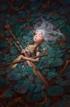 Wake up, Taras Susak : ArtStation - Wake up, Taras Susak Fantasy Artwork, Character Portraits, Character Art, Arte Van Gogh, Arte Obscura, High Fantasy, Anime Fantasy, Fantasy Illustration, Art Illustrations