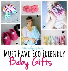 Eco Friendly Baby Products Gift Guide & Must Haves List from Moody Sisters Natural Skincare #ecofriendly