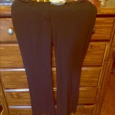 Candies slacks Candies slacks size 11.material provides stretch, could also fit a 12. Relaxed fit inseam 31 Candie's Pants Trousers