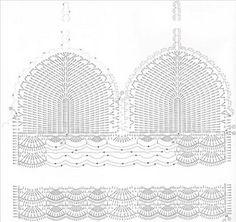 Resultado de imagen para top crochet patrones