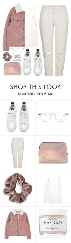 """""""Wednesday"""" by soym ❤ liked on Polyvore featuring CÉLINE, Topshop, Forever 21, Amen and Herbivore"""