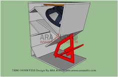 √ Skema Box TANO Horn T118 Bass Jauh | ARA AUDIO Speaker Plans, Speaker Box Design, Speakers, Horns, Bass, Audio, Boxes, Furniture, Horn