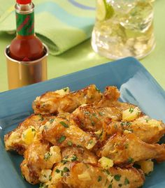 Chef Robert McGraths Pineapple-Habanero Chicken Wings | Recipes | TABASCO.COM